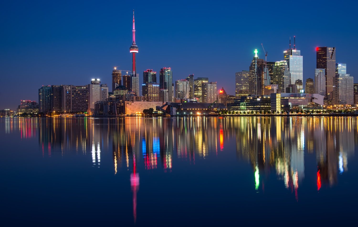Toronto, Canada with the CN Tower