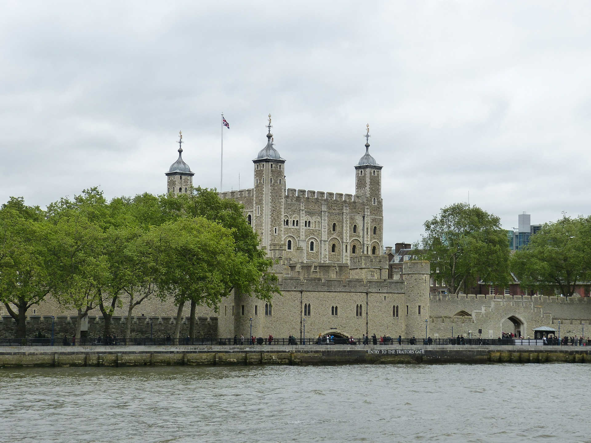 Tower of London in London, England
