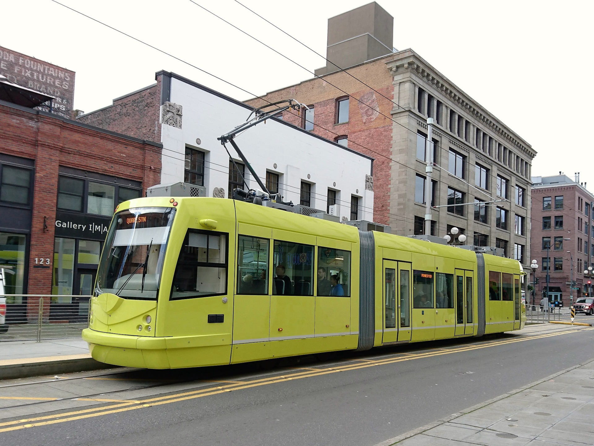 Tram in Seattle, Washington