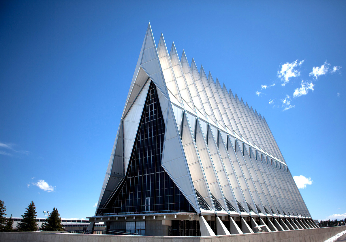United States Air Force Academy Cadet Chapel, USA