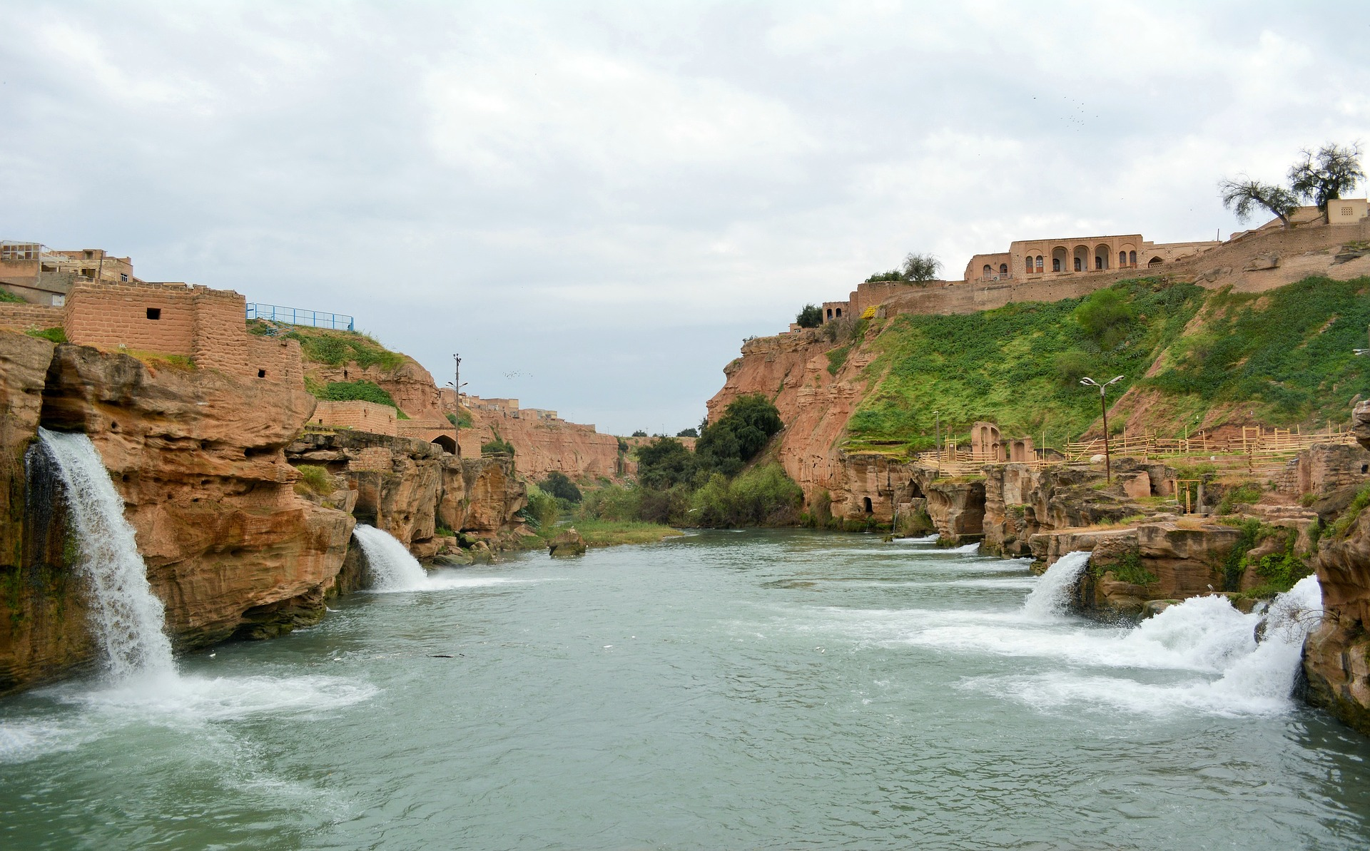 Waterfalls in Khuzestan Iran