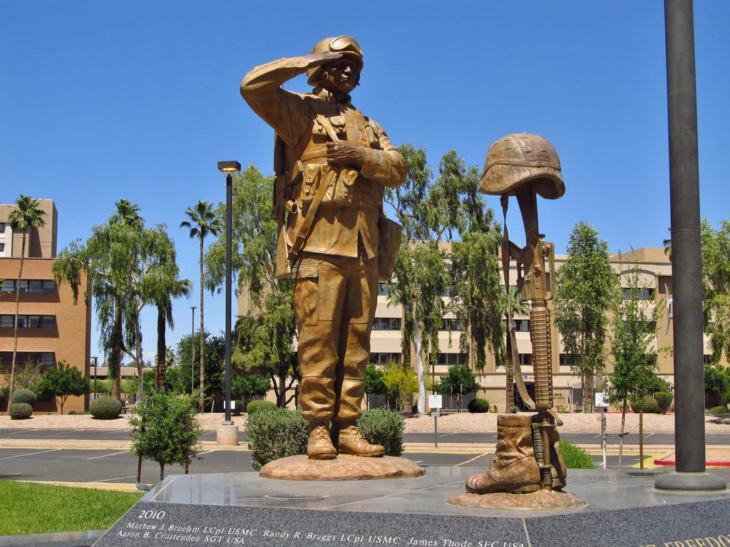 Wesley Bolin Memorial Plaza, Phoenix AZ