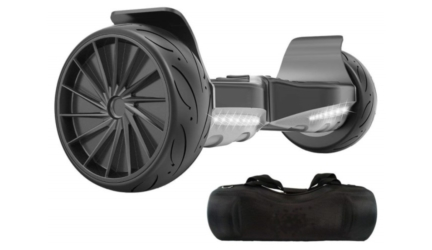 All Terrain Hoverboard with 8.5 Inch Wheels and Bluetooth Speaker