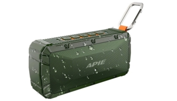 APIE Portable Waterproof Wireless Outdoor Bluetooth Speaker