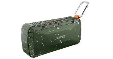 APIE Portable Waterproof Wireless Outdoor Bluetooth Speaker