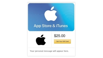 App Store & iTunes Gift Cards – Email Delivery