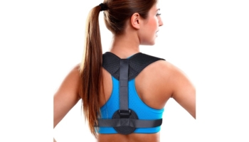 Posture Corrector for Women and Men with Adjustable Brace