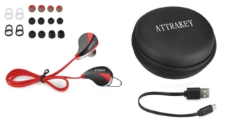 Attrakey S350 Wireless In-Ear Sports Earbuds Review