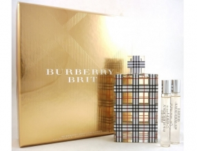 Burberry Brit for Women Eau de Parfum Gift Set