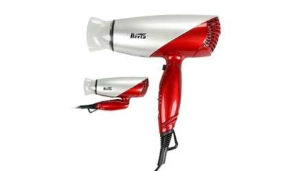 Berta Folding Dual Voltage Travel Hair Blow Dryer