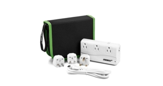 Bestek Travel Adapter With Voltage Converter and 4 USB Ports