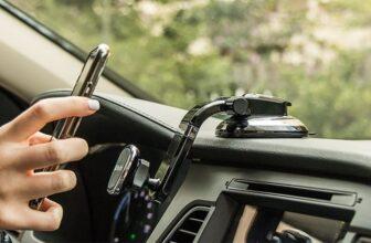 Bestrix Magnetic Dashboard Cell Phone Car Mount Holder