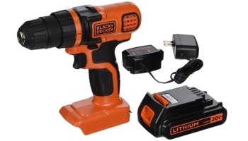 Black and Decker 20V MAX Lithium Ion Drill/Driver