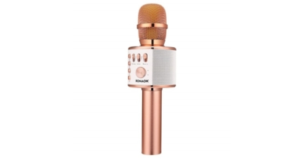 3-in-1 Wireless Bluetooth Karaoke Microphone For Smartphones