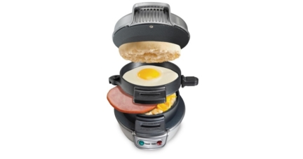 Try The Breakfast Sandwich Maker by Hamilton Beach