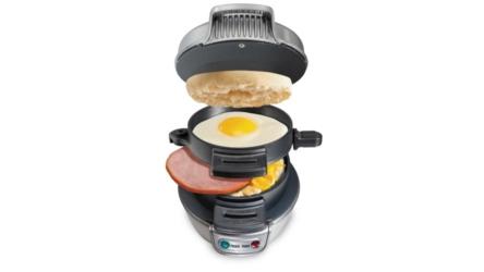 Try The Breakfast Sandwich Maker by Hamilton Beach