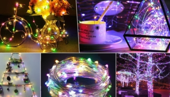 Colored Fairy Rope String LED Christmas Lights