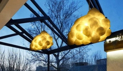 Art-inspired Cloud Chandelier