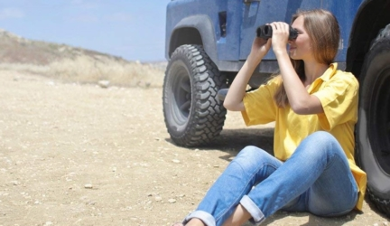 Folding Lightweight Compact Binoculars for Adults and Kids