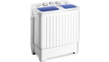 Portable Mini Compact Twin Tub Washing Machine