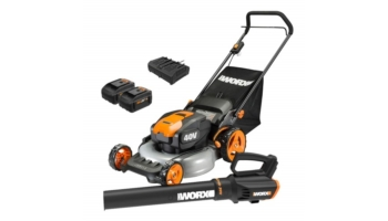 20-inch Cordless Mower and Turbine Cordless Blower