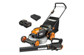 20-inch Cordless Mower and Turbine Cordless Blower
