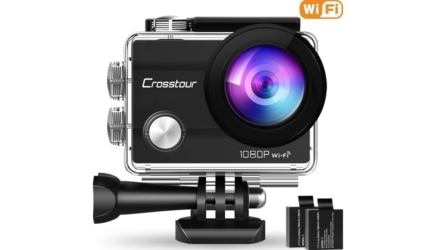 Crosstour Action Camera With WiFi and Full HD