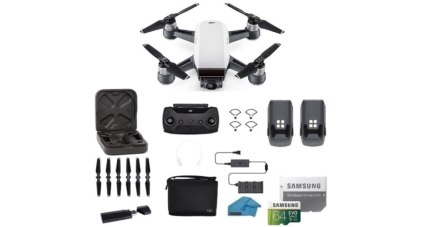 DJI Spark Portable Drone Quadcopter With Accessories