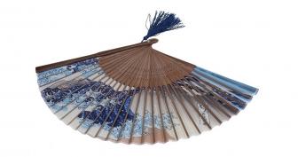 DawningView Japanese Handheld Folding Fan