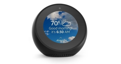 The New and Compact Amazon Echo Spot With Screen