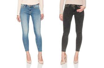 Denim Bloom Women's Low Rise Super Skinny Power Stretch Jeans