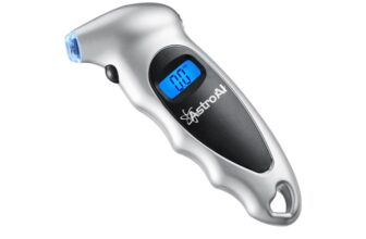 Digital Tire Pressure Gauge with Backlit LCD and Non-Slip Grip