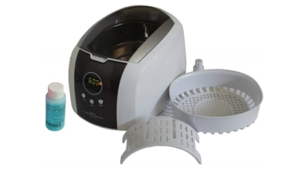 Digital Ultrasonic Cleaner for Jewelry, Eyeglasses and Watches