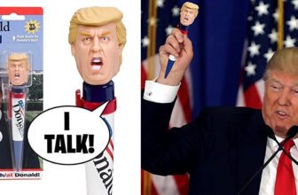 Donald Talking Pen With Donald Trump's Real Voice