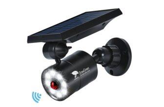 DrawGreen Outdoor LED Solar Motion Sensor Lamp