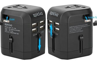 Epicka All In One Universal USB International Power Travel Adapter