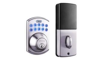 Electronic Keypad Deadbolt Door Lock with 1-Touch Motorized Locking