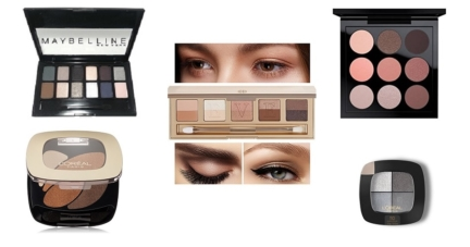 25 Best Selling Make-up Eye Shadow Palettes And Creams