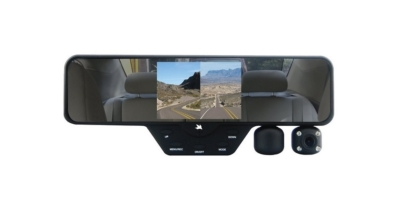 Falcon Zero F360 HD DVR Dual Dash Cam With Rear View Mirror
