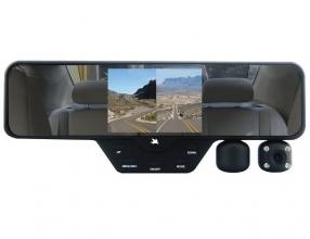 Falcon Zero F360 HD DVR Dual Dash Cam With Rear View Mirror