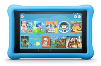 Fire HD 8 Kids Edition Tablet with Blue Kid-Proof Case