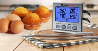 Dual Probe Digital Backlight Cooking Meat Thermometer