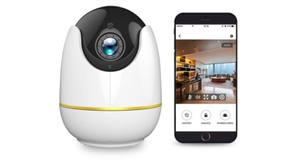 Wireless HD Home Security Camera with Motion Detection
