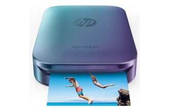 Print Social Media With HP Sprocket Portable Photo Printer