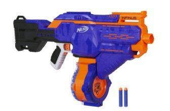 Infinus Nerf Toy Motorized Blaster with Speed-Load Technology