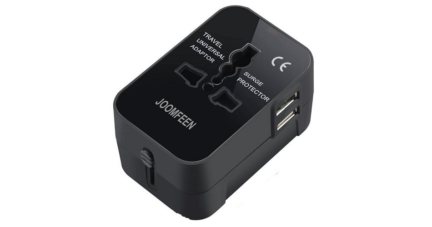Joomfeen Worldwide All in One Universal Travel Adapter