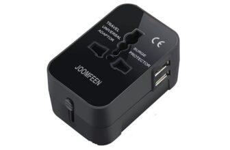 Joomfeen Worldwide All in One Universal Travel Adapter