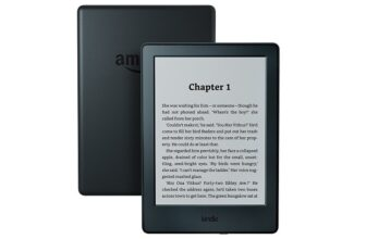 Kindle E-reader, 6-Inch with Glare-Free Touchscreen Display, Wi-Fi