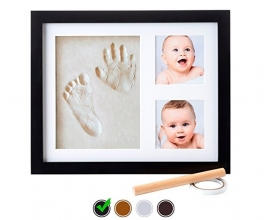 Little Hippo Baby Footprint & Handprint Kit Baby Picture Frame