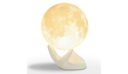 Touch Control Moon 3D Printed Light Lamp With USB Charging